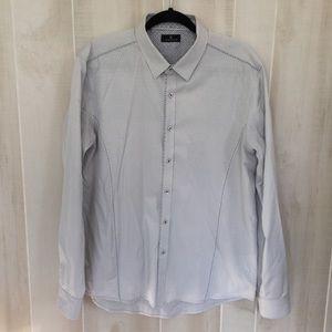 Buckles 7 diamonds button down shirt